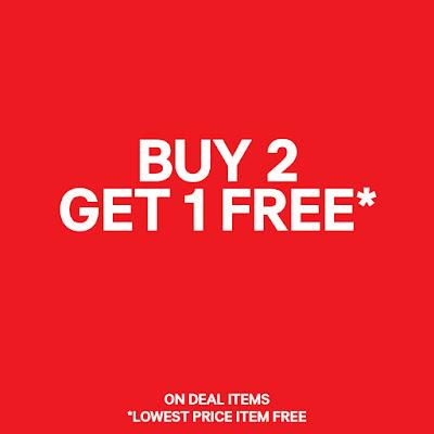 H&M Malaysia Buy 2 Free 1 Promo