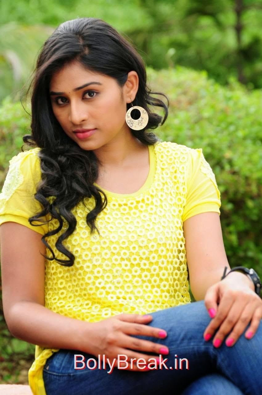 Tamil Actress Archana,  Archana Stills in yellow top From Madurai Maavendharkal Tamil Movie