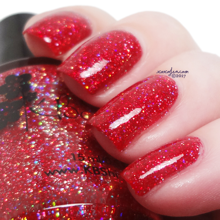 xoxoJen's swatch of KBShimmer Deck The Claws