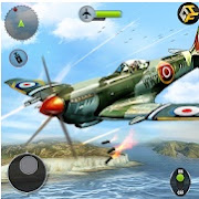 Airplane Fighting WW2 Survival Air Shooting Games 1.3 Mod Apk Terbaru Android Money