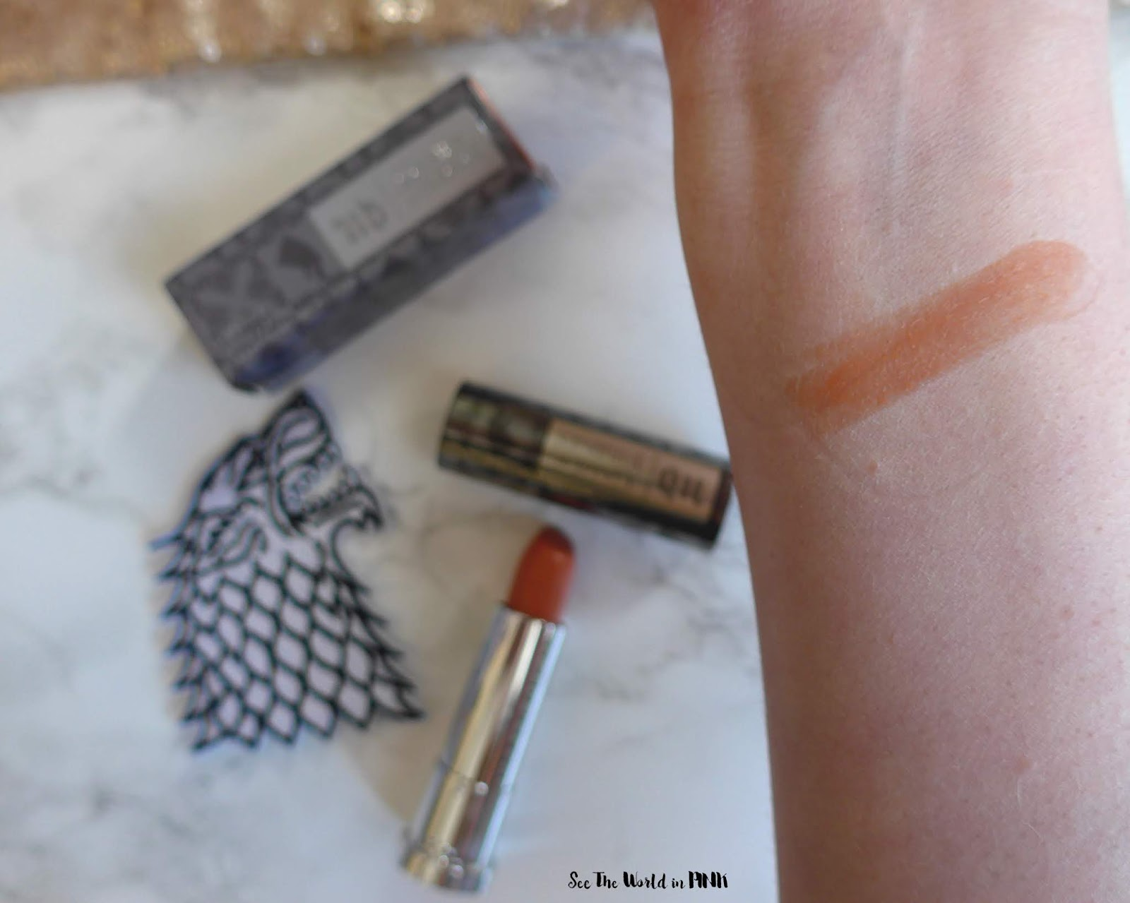 Urban Decay Game of Thrones Sansa Stark Vice Lipstick
