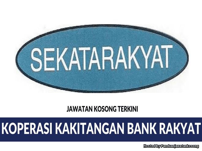 Iklan Jawatan Kosong Koperasi Kakitangan Bank Rakyat Berhad (27 Mei 2018)