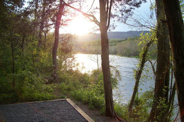 Camping at Shenandoah River State Park