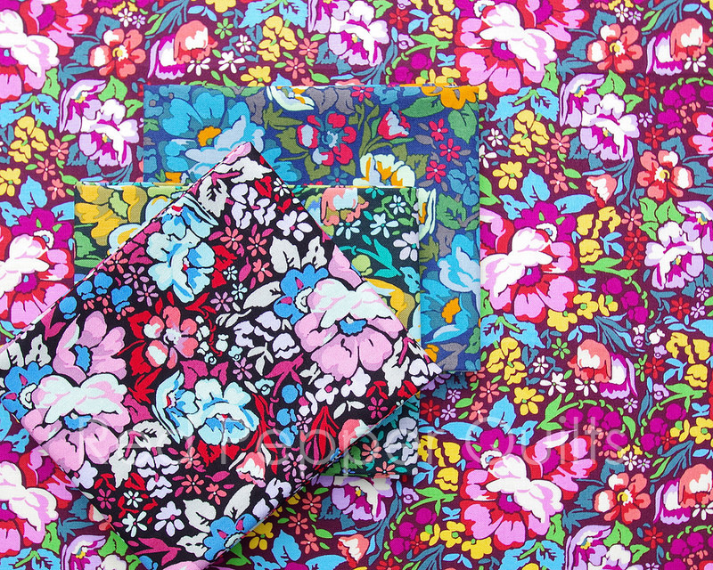 Floral Retrospective by Anna Maria Horner | © Red Pepper Quilts 2017