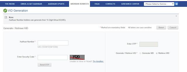 aadhaar card virtual id