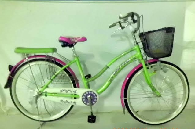 City Bike United Lavender Rangka Aloi 26 Inci