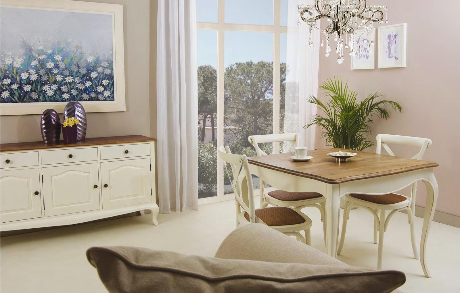 Muebles Para Comedor | Comedor Lucena 6 Sillas Estilo Clásico Famsa