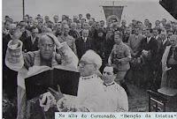 Benção, Inauguração, Cristo Redentor, 80 anos, Rio de Janeiro, 12 de Outubro, 2011, Corcovado