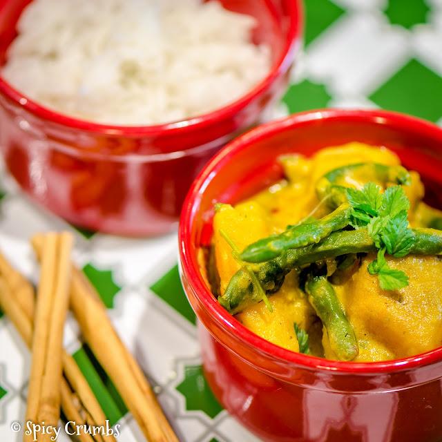 zeleninové curry - Srí Lanka
