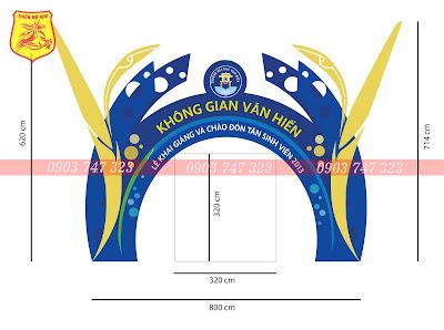 thiết kế thi công cổng chào