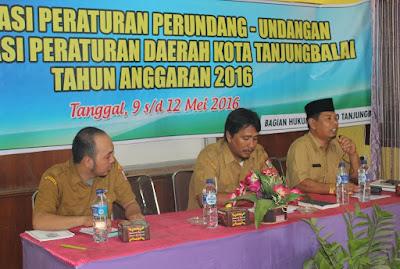 Kemenag Tanjungbalai Narasumber Perda Kota Tanjungbalai