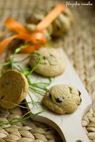 (Ciasteczka migdałowo-pomarańczowe