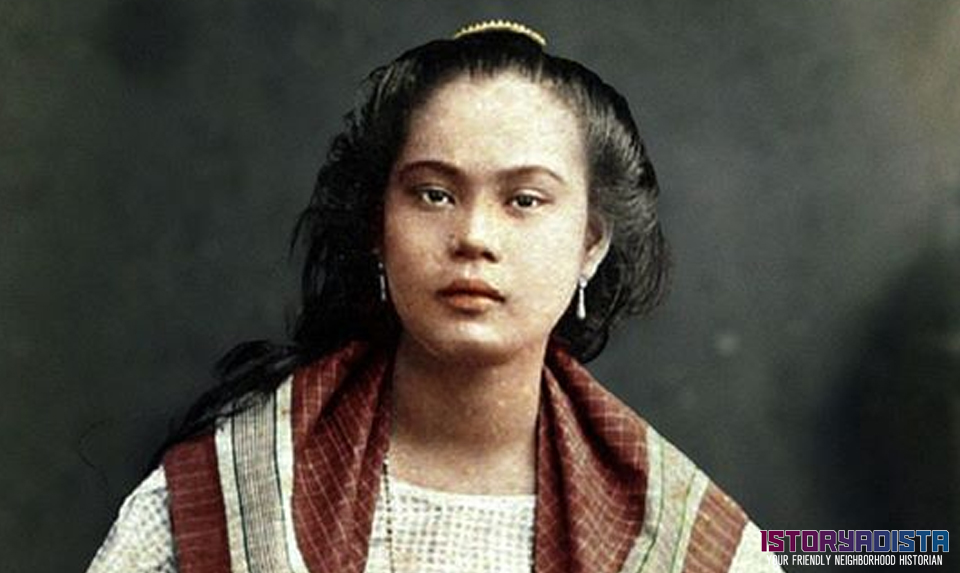 Portrait of a Filipino woman (c1890s)