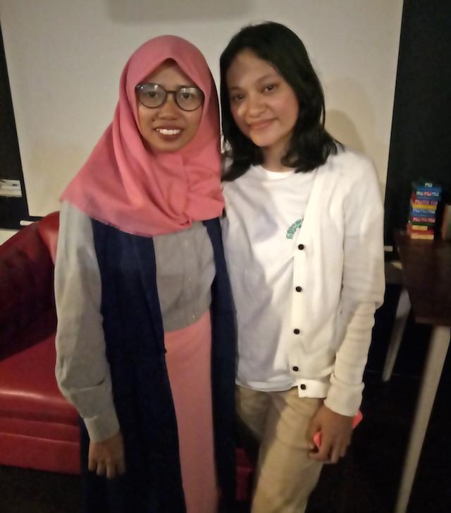Ketemu Chatreen Moko dan Rapat Payung Komunitas Yanikmatilah Saja