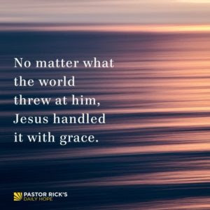 How to Handle Stress Like Jesus by Rick Warren
