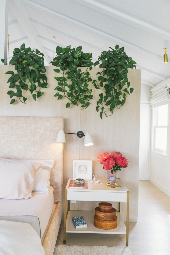 Greenery in the Bedroom is Always a Good Idea- design addict mom