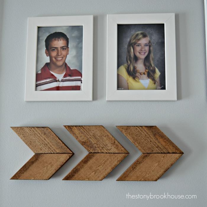 Wood Chevron Arrows