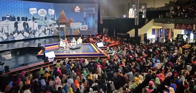 Kena Batunya!! Fadli Zon Diteriaki Ribuan Penonton Saat Mata Najwa On Stage Di Surabaya