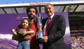 Mohammed Salah honored the top scorer in the Premier League and the award of the best player 2018