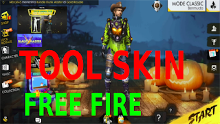 Tool Skin Free Fire adalah aplikasi yang bisa anda gunakan untuk mengganti background lobi di FF. Dan begini langkah - langkah mengganti background lobi FF dengan aplikasi Tool SKin.