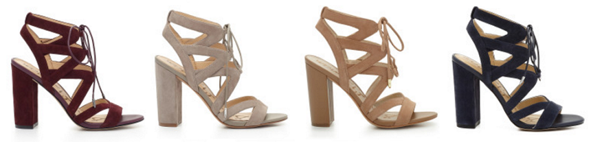 Sam Edelman Yardly Lace Up Heeled Sandals as low as $54 (reg $130)