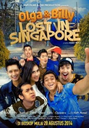 Review Film Olga dan Billy Lost Singapore 2014