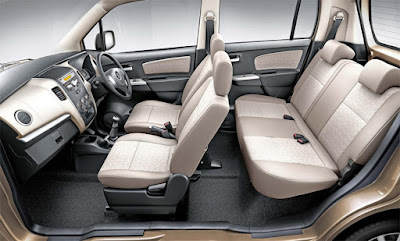 Maruti Suzuki Wagon R interior view