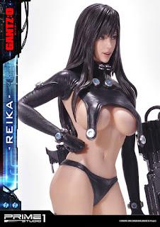 Reika de Gantz: 0 más sexy que nunca en la nueva estatua de Prime 1 Studio.
