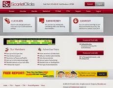 ScarletClicks, Paying PTC since 2009