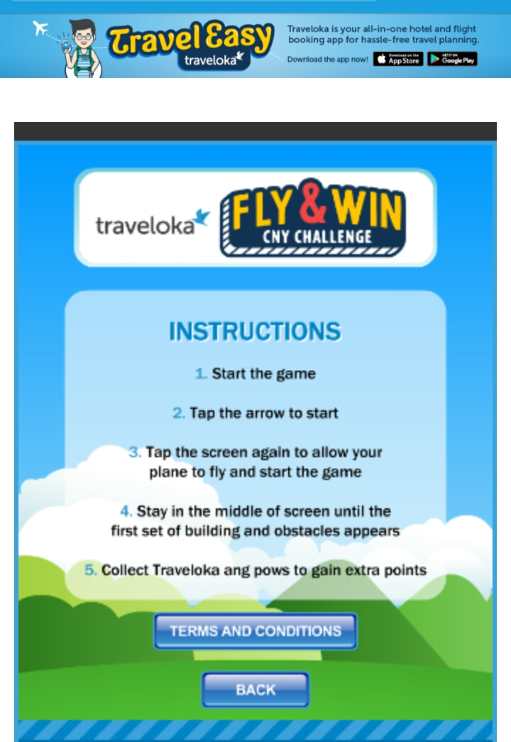 Peraduan Traveloka Fly & Win CNY