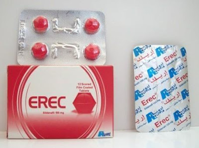 Erec tablets packing and box presentation