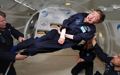 stephen hawking zero gravity traininig nasa space travel