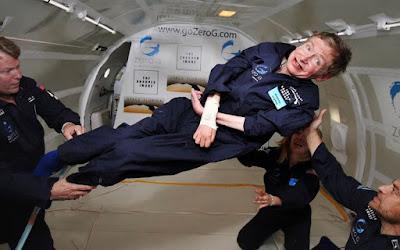 stephen hawking zero gravity traininig nasa space travel