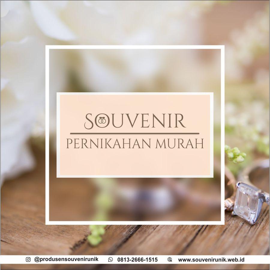 souvenir pernikahan murah
