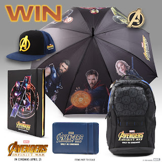 Win a Marvel Studios' Avengers: Infinity War prize pack