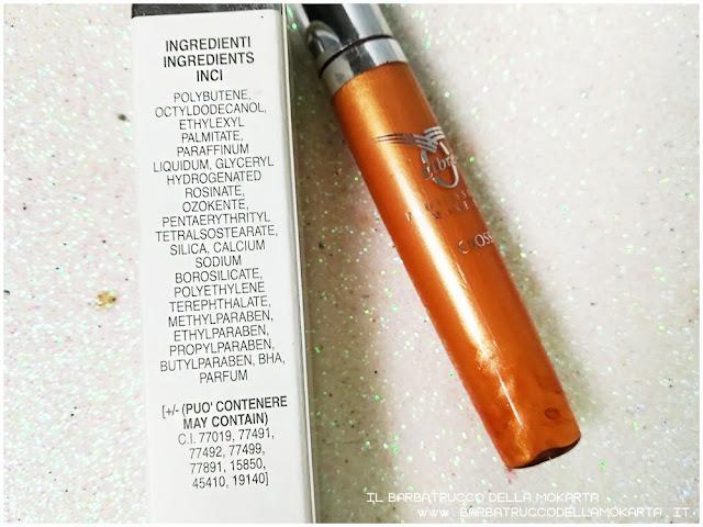 gloss inci  libre professional makeup