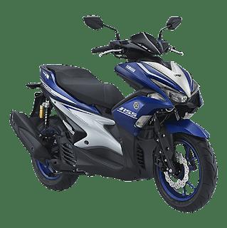 Harga Motor Yamaha Aerox 155VVA R-Version