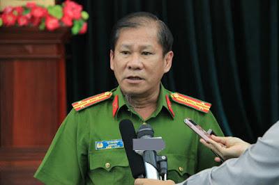 Đại tá Lê Tấn Bửu cho biết đang làm đề xuất xin mua máy bay trực thăng chữa cháy, cứu nạn