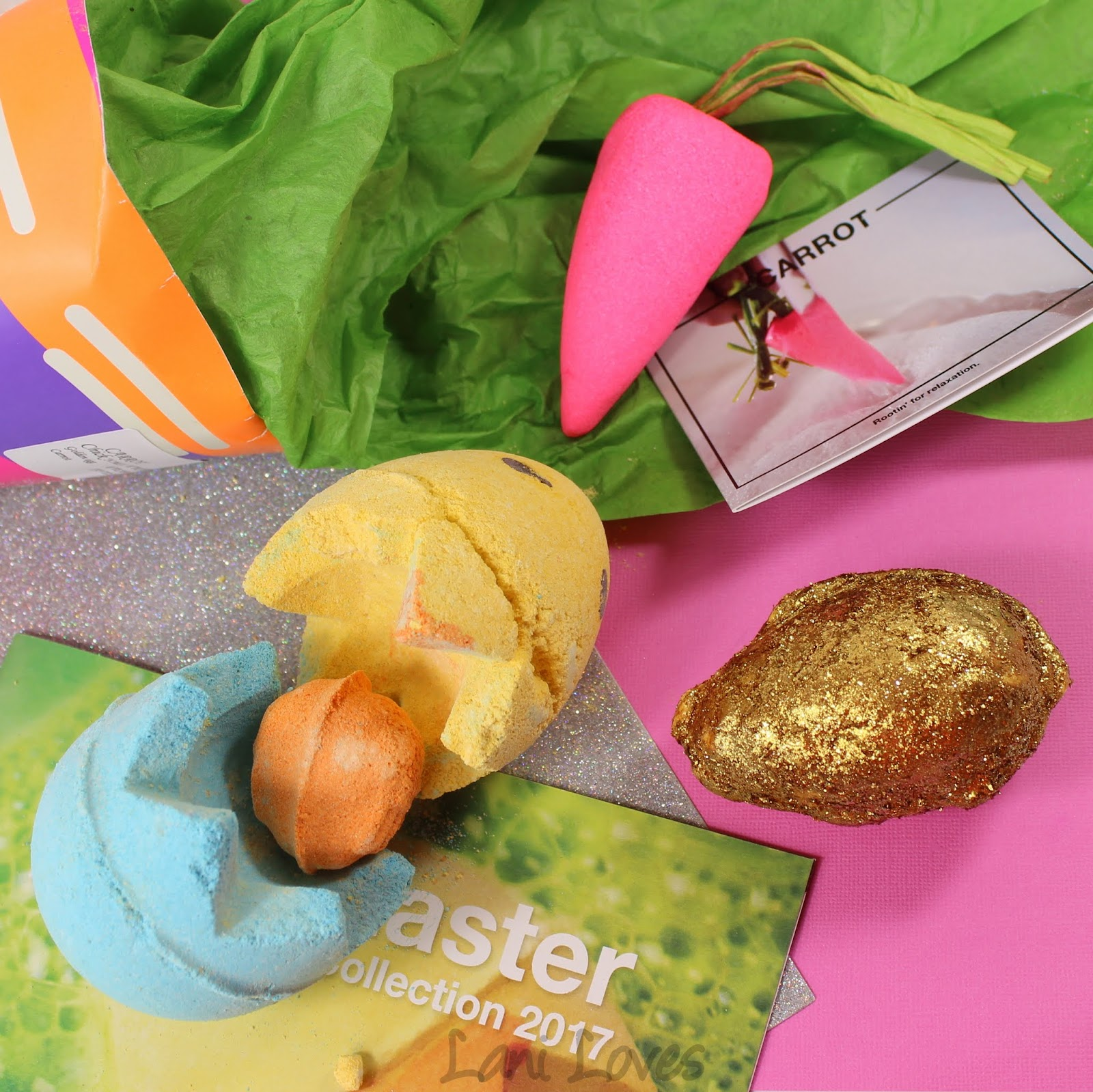 lush easter 2017 collection review lani loves