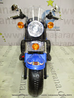 Motor Mainan Aki Pliko PK6900N New Harley- Blue