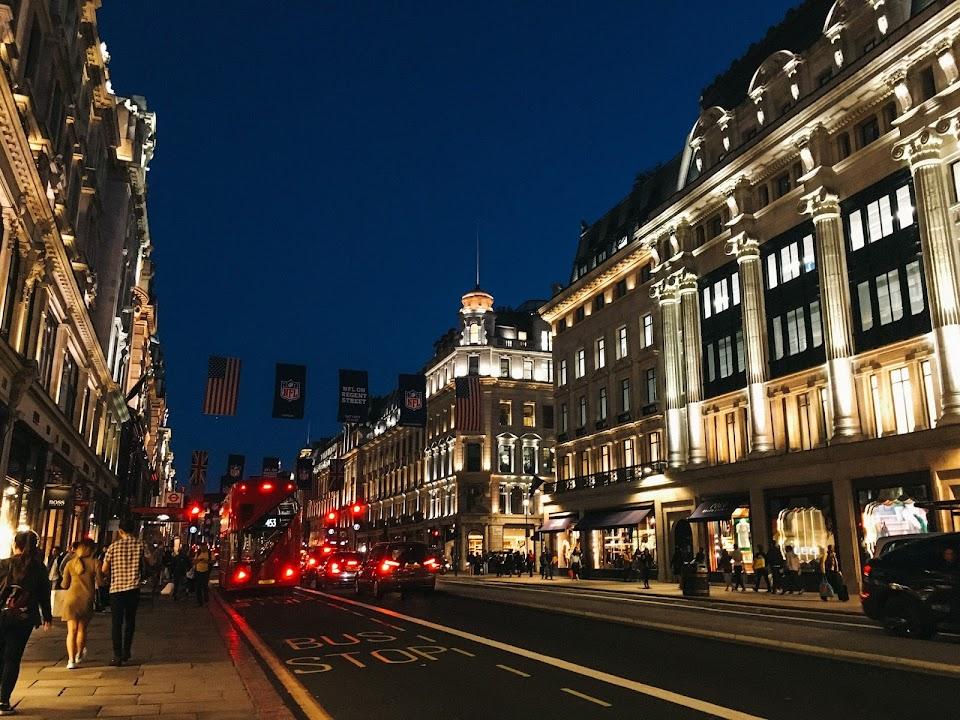 リージェント・ストリート(Regent Street)
