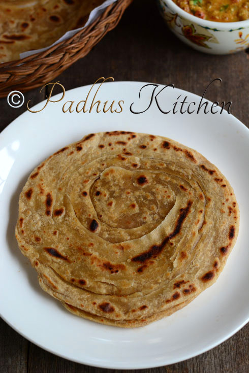Lacha Paratha-How to make Lachha Paratha