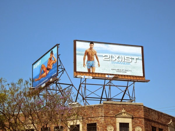 Andre Ziehe 2Xist Swimwear 2014 billboards