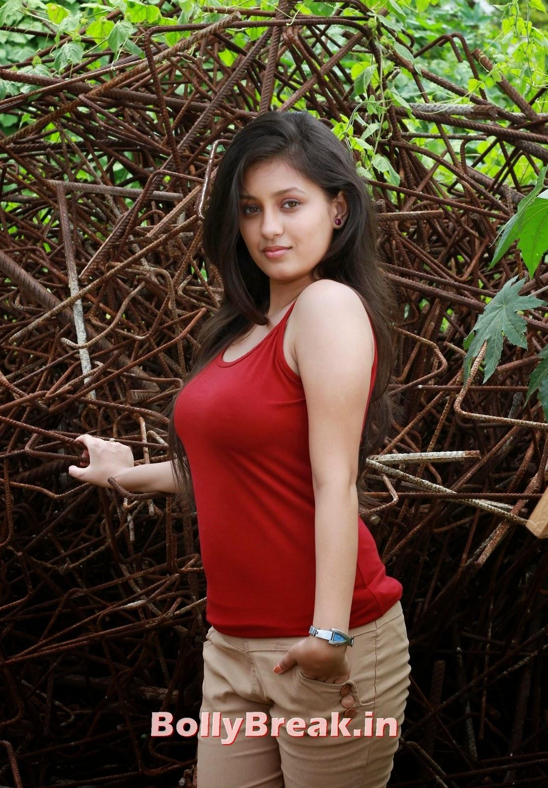 Kanika Tiwari Hot Pics In Red Top - 9 Pics-5450