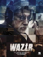 Wazir 2016 480p 1CD DVDRip Hindi Full Movie Download