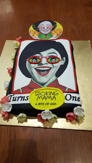 The Woking Mama restaurant at KORUM Mall celebrated its first anniversary
