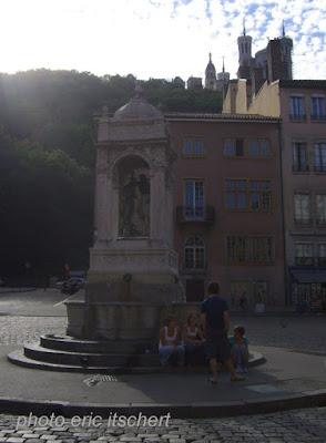 Lyon, Fourvière, Saône,