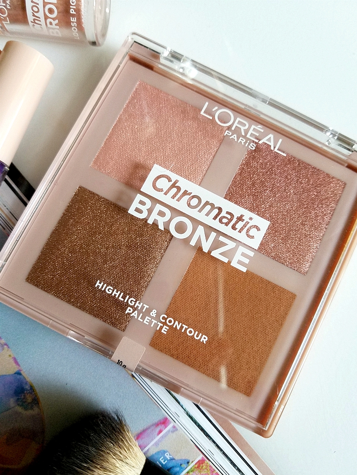 L´Oréal Paris - Chromatic Bronze Highlight & Contour Palette - 14.95 Euro