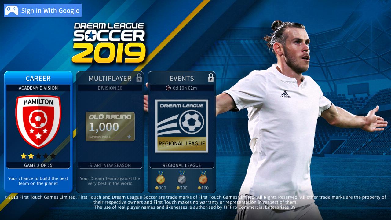 تحميل لعبة دريم ليج 2019