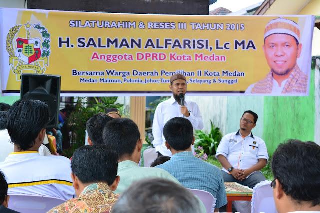 Sahuti Aspirasi Reses, Salman Akan Prioritaskan Usulan Perbaikan Drainase